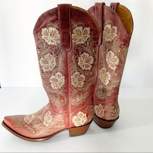 Like new! Old Gringo Women's Cowboy Boots